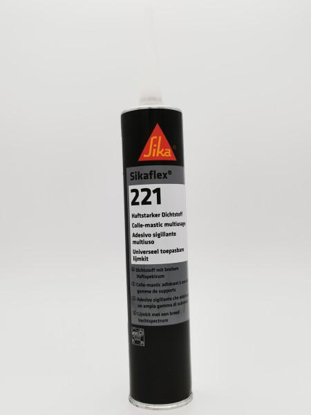 Sikaflex 221 braun PU-Dichtstoff Kartusche a 300 ml