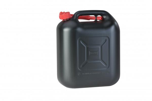 Kraftstoffkanister Standard 20 Liter, HD-PE, schwarz, UN-Zulassung,