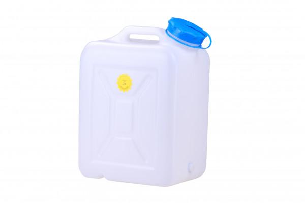 Weithalskanister 31 Liter, PD-PE, natur, UV Schutz