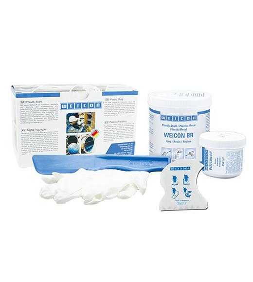 WEICON PLASTIK-STAHL BR 0.5 KG