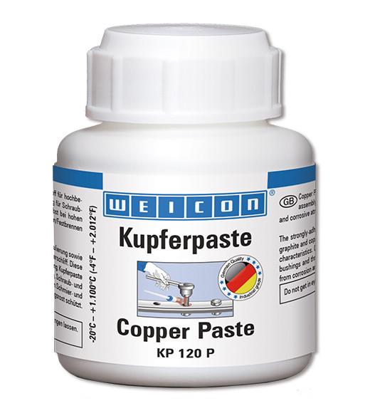 WEICON KUPFERPASTE KP-120 P, Pinseldose a 120 g