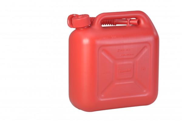 Kraftstoffkanister Standard 10 Liter,HD-PE, Rot, UN-Zulassung