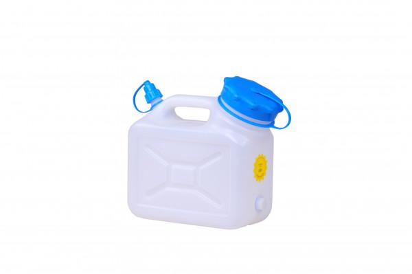 Weithalskanister 5 Liter, HD-PE,natur, UV Schutz