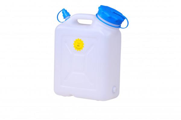 Weithalskanister 10 Liter HD-PE,natur,UV Schutz