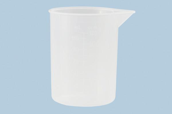 Messbecher 120 ml, PP Transparent