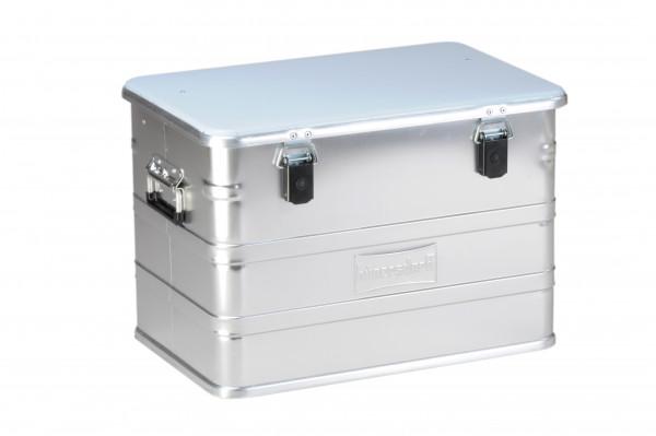 Aluminium-Profi-Box 76 l, silber, Abm.: 385 x 592 x 409 mm