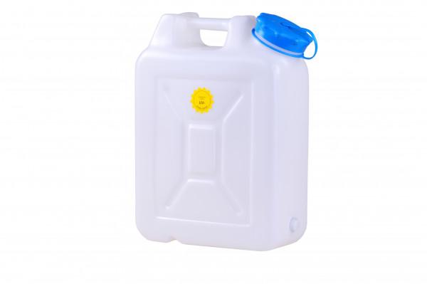 Weithalskanister 22 Liter, HD-PE, natur, UV Schutz,